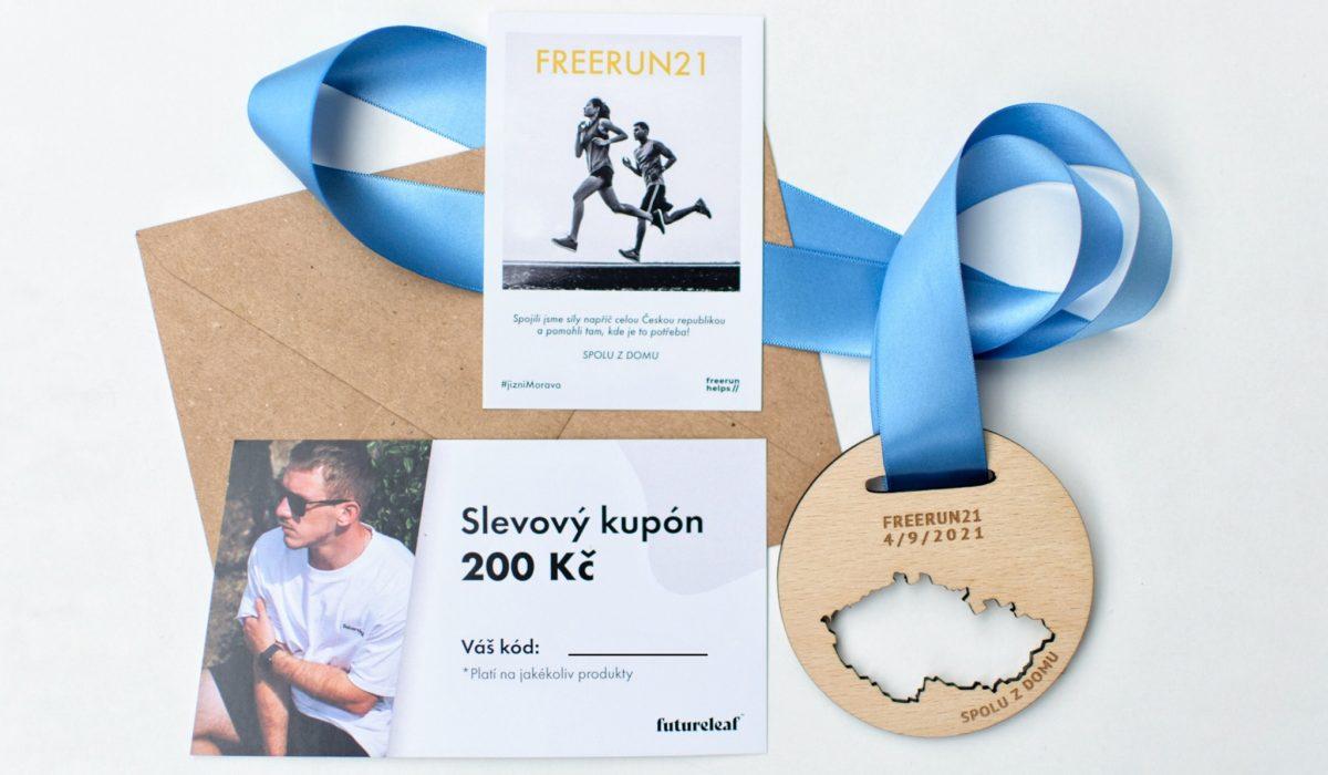 freerun21-medaile-pomoc-sport-běh-kolo-chuze-futureleaf